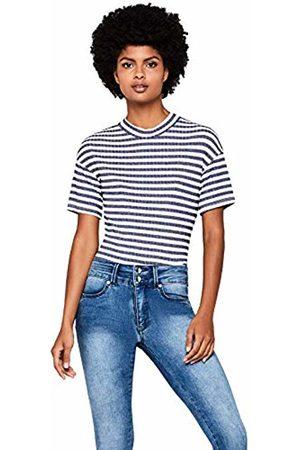 FIND Women's Stripe Boxy T-Shirt