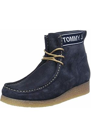 Tommy Hilfiger Women's Wmn Crepe Outsole Suede Wallaby Ankle Boots