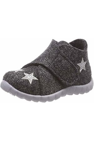 Superfit Girls' Happy Hi-Top Slippers