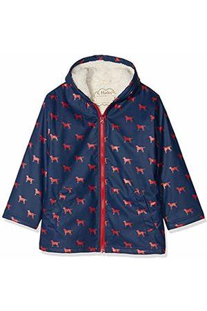 Hatley Boy's Sherpa Lined Splash Rain Jacket, ( Labs)