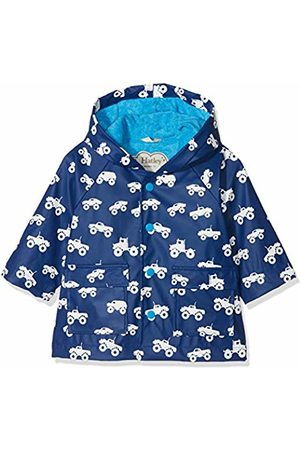Hatley Baby Boys' Printed Raincoat, (Colour Changing Monster Trucks)