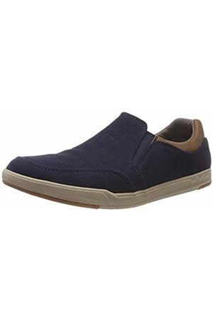 Clarks Men's Step Isle Slip on Trainers, (Navy-)
