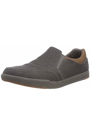 Clarks Men's Step Isle Slip on Trainers, (Dark -)