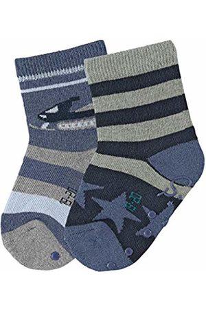 Sterntaler Baby Boys' Abs-Söckchen DP Schneemobil Socks
