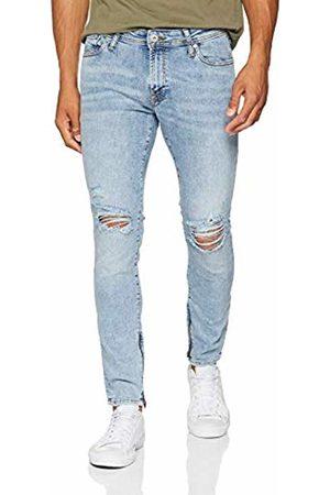 Jack & Jones Men's Jjiliam Jjoriginal Am 745 Zip Ltd Skinny Jeans