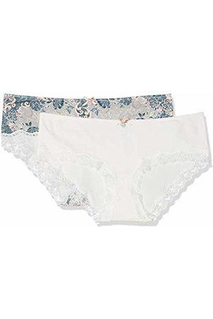 Skiny Women's Sweet Cotton Mix Panty 2er Pack Boy Shorts