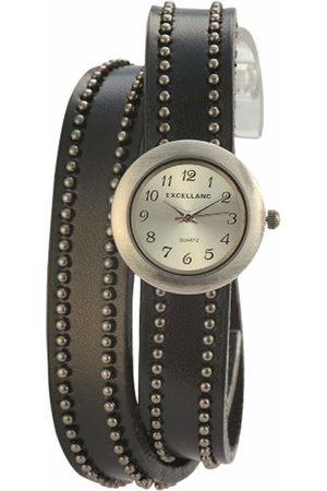 Excellanc Women Watches - Excel Ladies Wristwatch Quartz Analog XS LANC Different Materials 195272500024