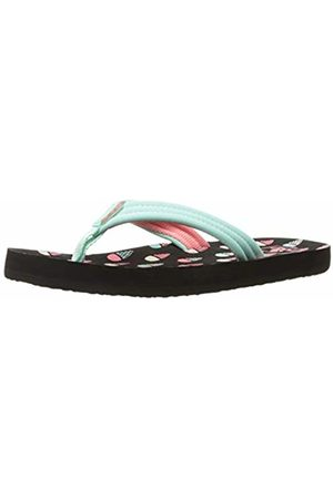 72386d9ab7fe Reef Girls   Little Ahi Flip Flops Multicolor (Ice Cream Icr) ...
