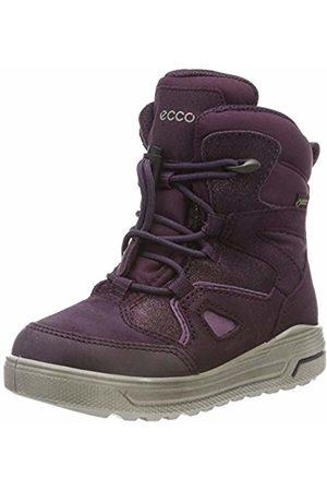 Ecco Unisex Kids' Urban Snowboarder Snow Boots, Violett (Night Shade/Mauve 59676)