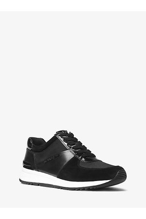 Women Trainers - Allie Leather And Canvas Sneaker