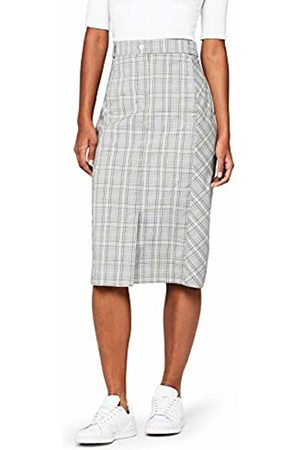 FIND Women's Check Pencil Skirt