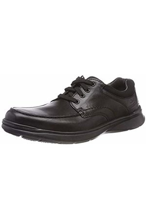 Clarks Men's Cotrell Edge Derbys, (Blk Smooth Lea-)