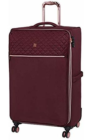 IT Luggage Divinity 8 Wheel Lightweight Semi Expander Large With Tsa Lock Suitcase, 80 cm
