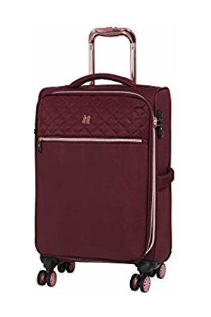 IT Luggage Divinity 8 Wheel Lightweight Semi Expander Cabin with TSA Lock Suitcase, 58 cm