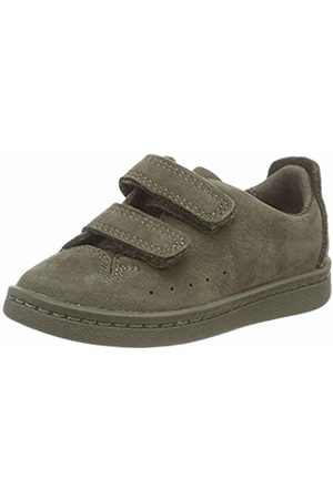 Clarks Unisex Kids' Nate Maze. Low-Top Sneakers, (Olive Nubuck-)
