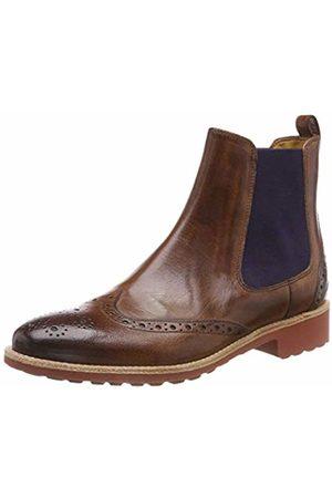 Melvin & Hamilton Women's Amelie 5 Chelsea Boots, (Classic/Wood/ Ela /Rook D Classic/Wood/ Ela /Rook D )