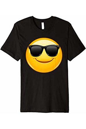 Emoji Clothes Emoji Shirt Smiling Emoticon with Sunglasses