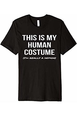 Demon Shirt Shoppe This Is My Human Costume I'm Really a Demon Shirt Cosplay