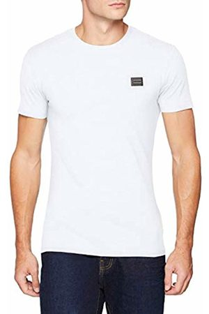 Antony Morato Men's T Shirt Sport Slim Girocollo Con Placchetta Kniited Tank Top