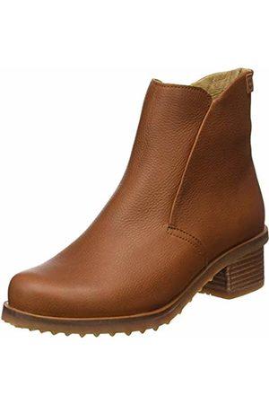 El Naturalista Women's N5106 Soft Grain Cuero/Kentia Ankle Boots