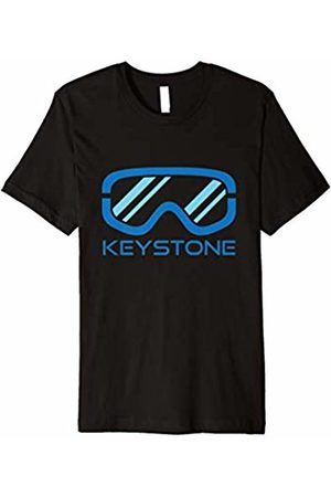 Cool Retro Keystone Colorado T-Shirts Snow Ski & Snowboard Goggles - Keystone Colorado T-Shirt