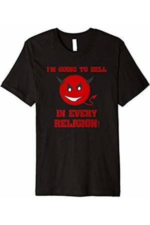Going to Hell Someday Soon Tees I'm Going To Hell In Every Religion Devil T Shirt