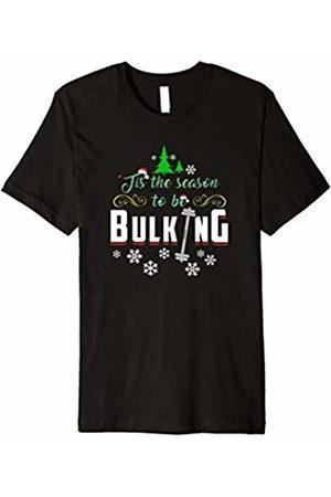 Xmas Gym Shirts Christmas Gym Shirt Tis The Season To Be Bulking T-Shirt
