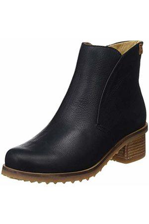 El Naturalista Women's Soft Grain Ankle Boots