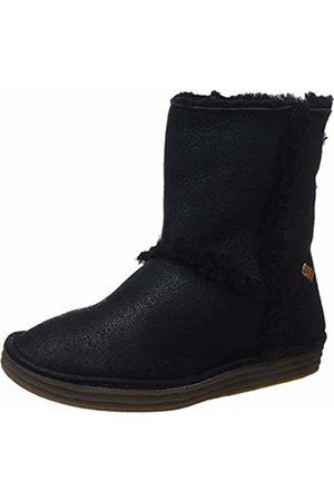 El Naturalista Women's N5054 Doble FAZ-Lux Suede /Rice Field Slouch Boots