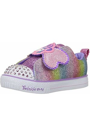 Skechers Girls' Shuffle Lite-Sparkle Pals Slip on Trainers