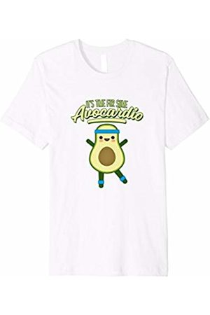 Avocado Lover Pajama Shirts & Gifts Avo-cardio Shirt Funny Avocado Workout Avocardio T-shirt