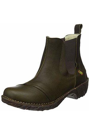El Naturalista Women's N158 Soft Grain Olive/Yggdrasil Chelsea Boots