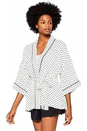 IRIS & LILLY Women's Twill Floral Print Wrap Kimono
