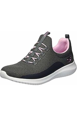 Skechers Girls' Ultra Flex Slip on Trainers