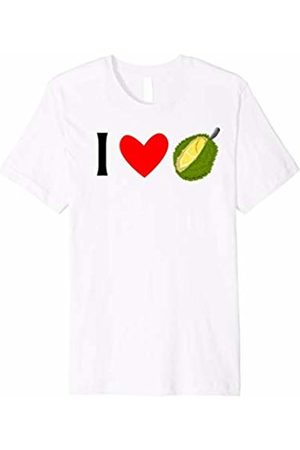 Buy Cool Shirts I Love Durian Fruit Tshirt