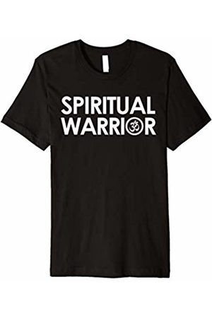 Yoga Quotes & Sayings Apparel Spiritual Warrior Om Symbol Yogi Yoga Quote T-Shirt