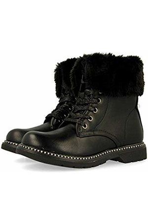 Gioseppo Girls' 46677-p Slouch Boots, (Negro Negro)