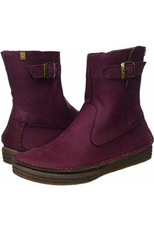 El Naturalista Women's N5046 Pleasant Rioja/Rice Field Ankle Boots