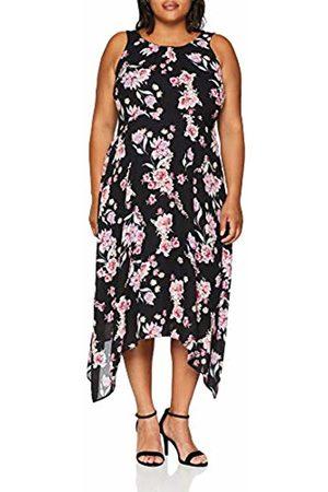 Evans Women's Floral Hanky Hem Dress