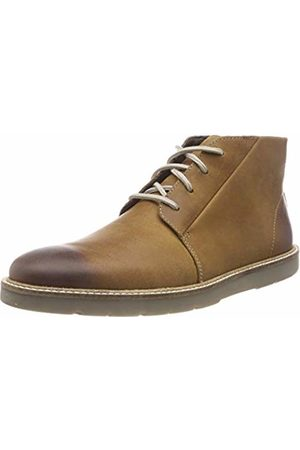 Clarks Men Boots - Men's Grandin Mid Chelsea Boots, (Dark Tan Lea-)