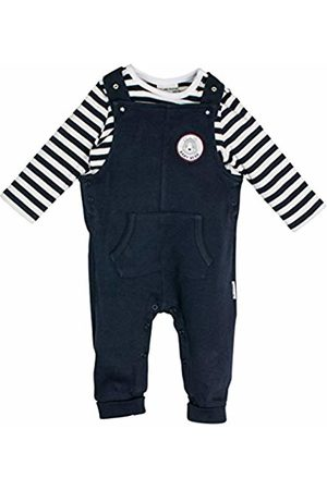 Salt & Pepper Salt Pepper Baby Boys' NB Playsuit Bear Uni Tasche Footies