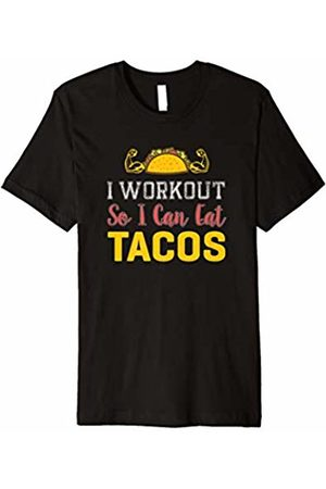 Let's Taco About Taco Tuesday Tees I Workout so I can Eat Tacos - Funny Cute T-Shirt