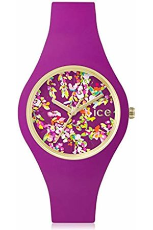 ICE-Watch ICE flower Wonderland - Women's wristwatch with silicon strap - 001444 (Small)