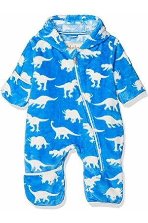 Hatley Baby Boys' Fuzzy Fleece Bundler Jacket, (Roaming Dinos)