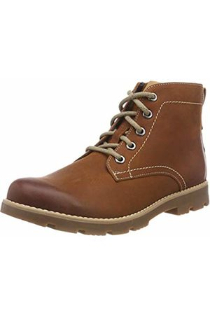 Clarks Boys' Comet Rock Classic Boots, (Tan Leather-)