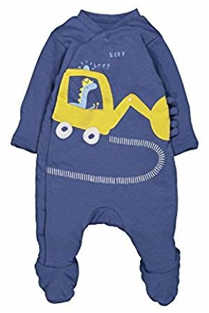 Mothercare Baby Boys' Wadded Little Truck Dressing Gown, (Dark )