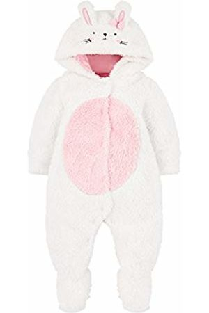 Mothercare Baby Girls' Long Sleeve Bunny Fluffy Dressing Gown