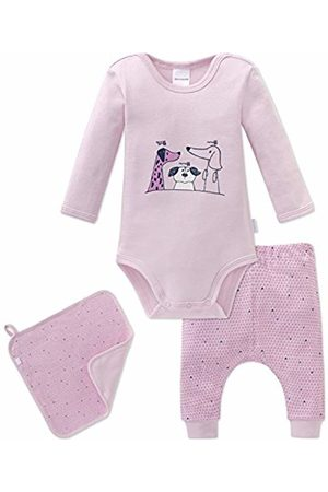 Schiesser Baby Girls' Puppy Love Mädchen Underwear Set