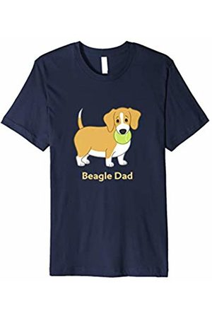 Cute Beagle Shirts by CSForest Funny Fat Lemon Yellow Beagle Dad T-Shirt