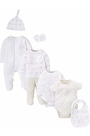 Mothercare Baby Boys' Unisex 8 Piece My 1ST New Clothing Set, (Lights Multi)